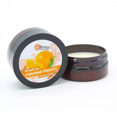 Твёрдый крем для тела «Волшебный апельсин» 40 мл.