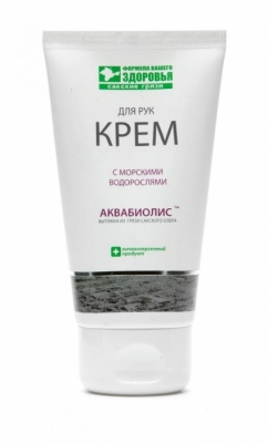 Аквабиолис Крем для рук «С морскими водорослями» 75мл.