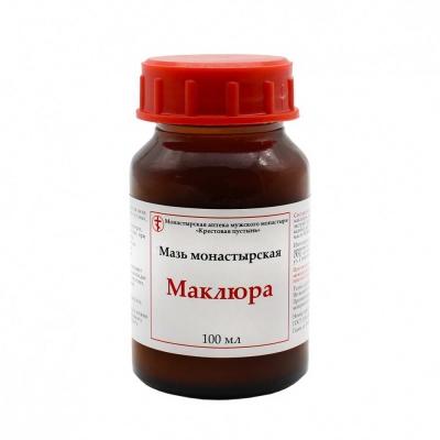 Мазь монастырская «Маклюра» 100 мл.