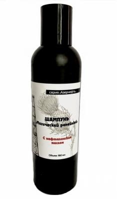 Шампунь «Магический репейный» с Нафталанским маслом «Азернефть-Нафталан»180 мл.