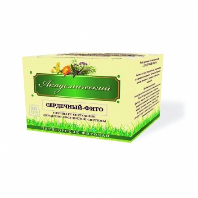 Фиточай травяной «Академический» «Сердечный - фито» 30 гр. ф/п (20*1,5гр)