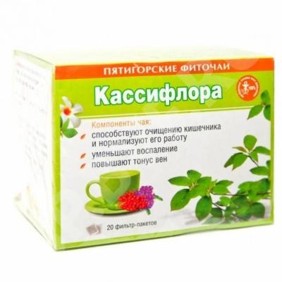 Фиточай травяной «Кассифлора» 30 гр. ф/п (20*1,5гр)