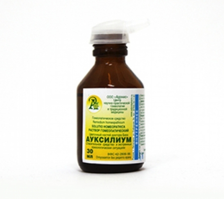 Раствор гомеопатический «Ауксилиум» 50гр.