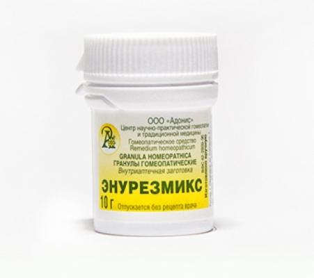 Гранулы гомеопатические «Энурезмикс»10гр.