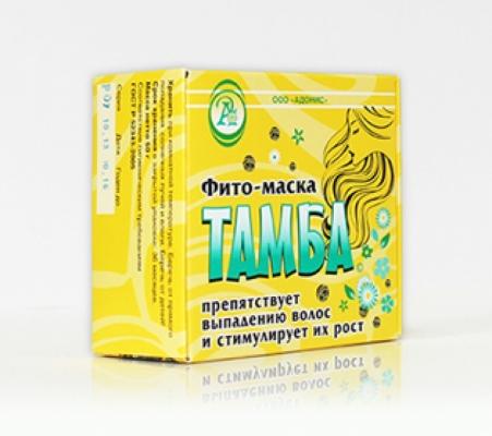 Фито-маска от выпадения волос т.м. «ТАМБА»