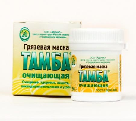 Фито-маска Грязевая Очищающая «ТАМБА»