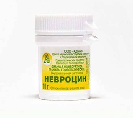 Гранулы гомеопатические «Невроцин»10гр.