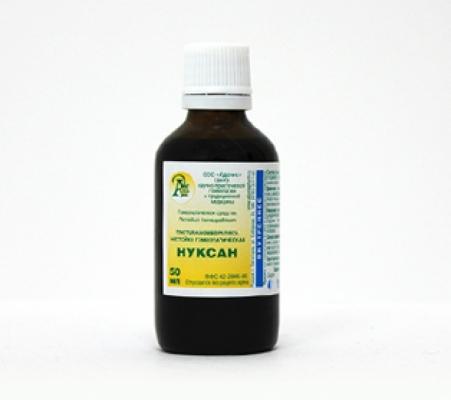 Раствор гомеопатический «Нуксан»10гр.