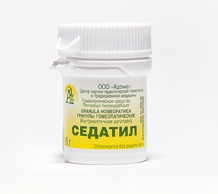 Гранулы гомеопатические «Седатил»10гр.