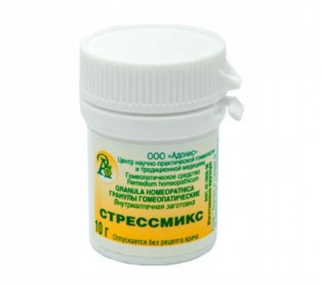 Гранулы гомеопатические «Стрессмикс»10гр.