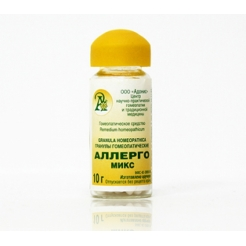 Гранулы гомеопатические «Аллерго-микс / Амброзия»10гр.