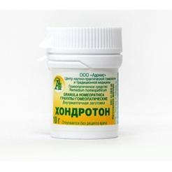 Гранулы гомеопатические «Хондротон»10гр.
