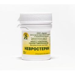 Гранулы гомеопатические «Невростерин»10гр.