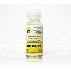 Раствор гомеопатический «Софора»10гр.
